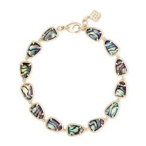 NWT Kendra Scott Susanna Gold Link Bracelet